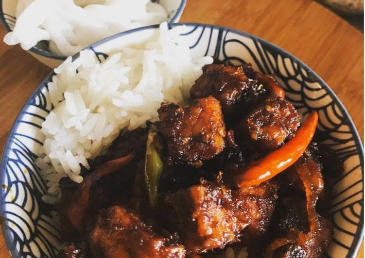 Easy Way to Prepare Appetizing Indonesian Tempe stir fry ...